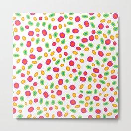 Colorful Circles Abstract Print Metal Print