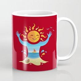 Sun, Sea and Sand Coffee Mug