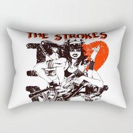 the love strokes band tour 2020 ngamein Rectangular Pillow
