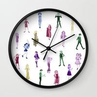 ahs Wall Clocks featuring AHS by Ree (rvsalochka)