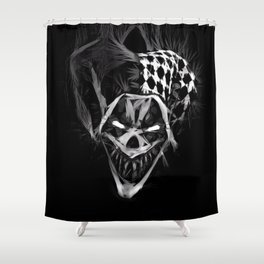 Jester's Dead Shower Curtain