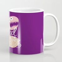 nfl Mugs featuring Lustful Cockmonster by Chris Piascik