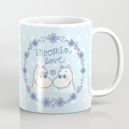 Moomin Love Sky Blue Coffee Mug