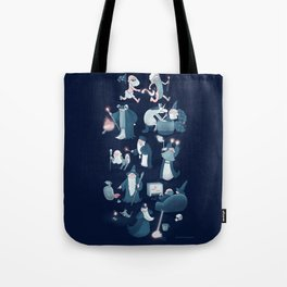 A Shared Flat for Wizards Tote Bag