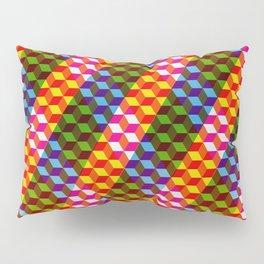 Shifting cubes Pillow Sham