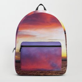 breathtaking sunset Backpack