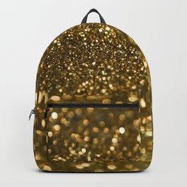 Gold Sparkle Pattern Backpack