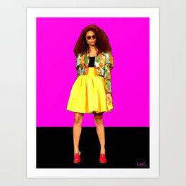 Moda…Colombia Art Print