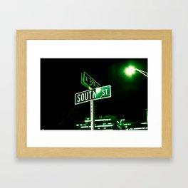 South St. Framed Art Print