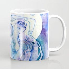 Goddess of Aquarius - An Air Elemental Coffee Mug