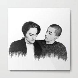 SKAM Yousef & Elias Metal Print