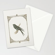 A Victorian Bird Stationery Cards