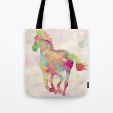 Abstract horse Tote Bag