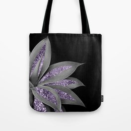 Agave Finesse Glitter Glam #3 #tropical #decor #art #society6 Tote Bag