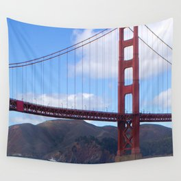 Golden Gate Bridge San Francisco Ca Wall Tapestry
