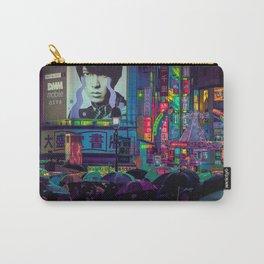 Tokyo Nights / Shibuya Neon Noir / Rain / Liam Wong Carry-All Pouch