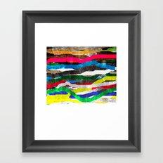 fancy stripes 2 Framed Art Print