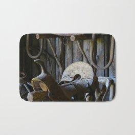 Rustic Saddle Bath Mat