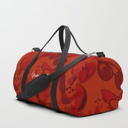 FASHION STYLE RED Duffle Bag