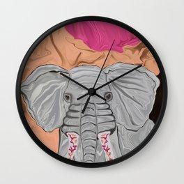 Tusk's Manicure Wall Clock