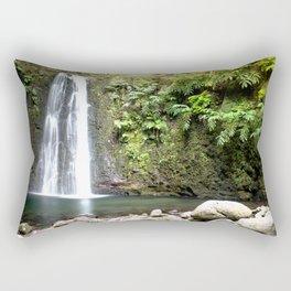 lime green waterfall Rectangular Pillow