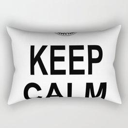 KEEP CALM AND OHM Rectangular Pillow