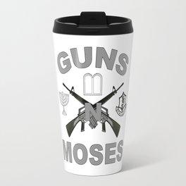 Guns 'n Moses for Dark Colors! Travel Mug
