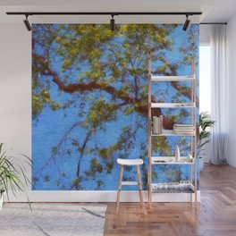 The Lilac Tree Wall Mural