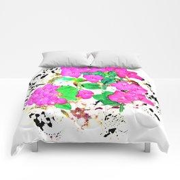 Bougainvillea Story Comforters