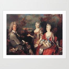 Nicolas de Largillire - Untitled Art Print