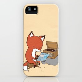 Record Player iPhone Case