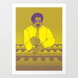 1001 Black Men--#206 Art Print