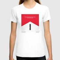 senna T-shirts featuring No228 My Rush minimal movie poster by Chungkong