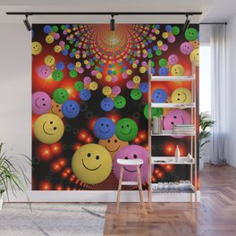 Smiley Wall Mural
