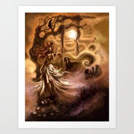 + My Virgin Widow +  Art Print