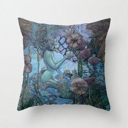 Gaian Forest Throw Pillow