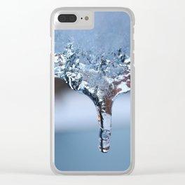 Freeze Drop Clear iPhone Case