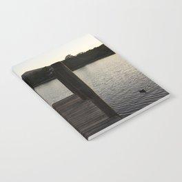 derwentwater jetty sunset Notebook