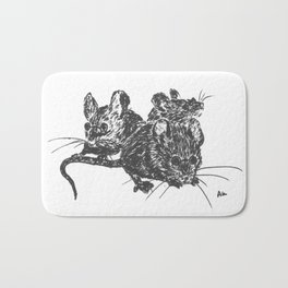 Blind Mice Bath Mat