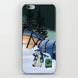 Parker the Penguin iPhone Skin