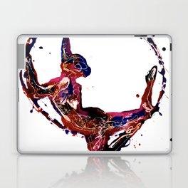 Splatter Hoop Laptop & iPad Skin