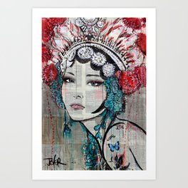 DYNASTY Art Print