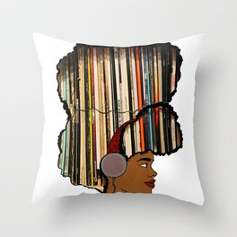 Put a Record On Throw Pillow