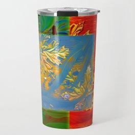 Floating Feathers Travel Mug