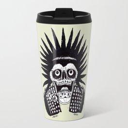 CRUSTY PUNK SKULL Travel Mug