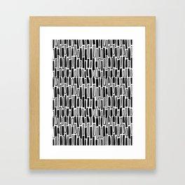 Raintangle Framed Art Print
