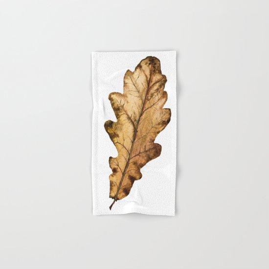Autumn Leaf 01 Hand & Bath Towel