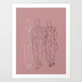The three musketeers #1 Art Print