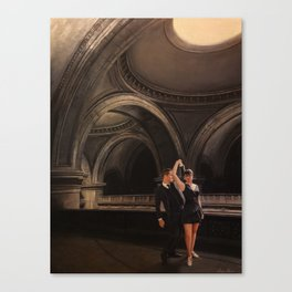 Blues In The Great Hall Canvas Print