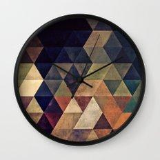 fyssyt pyllyr Wall Clock
